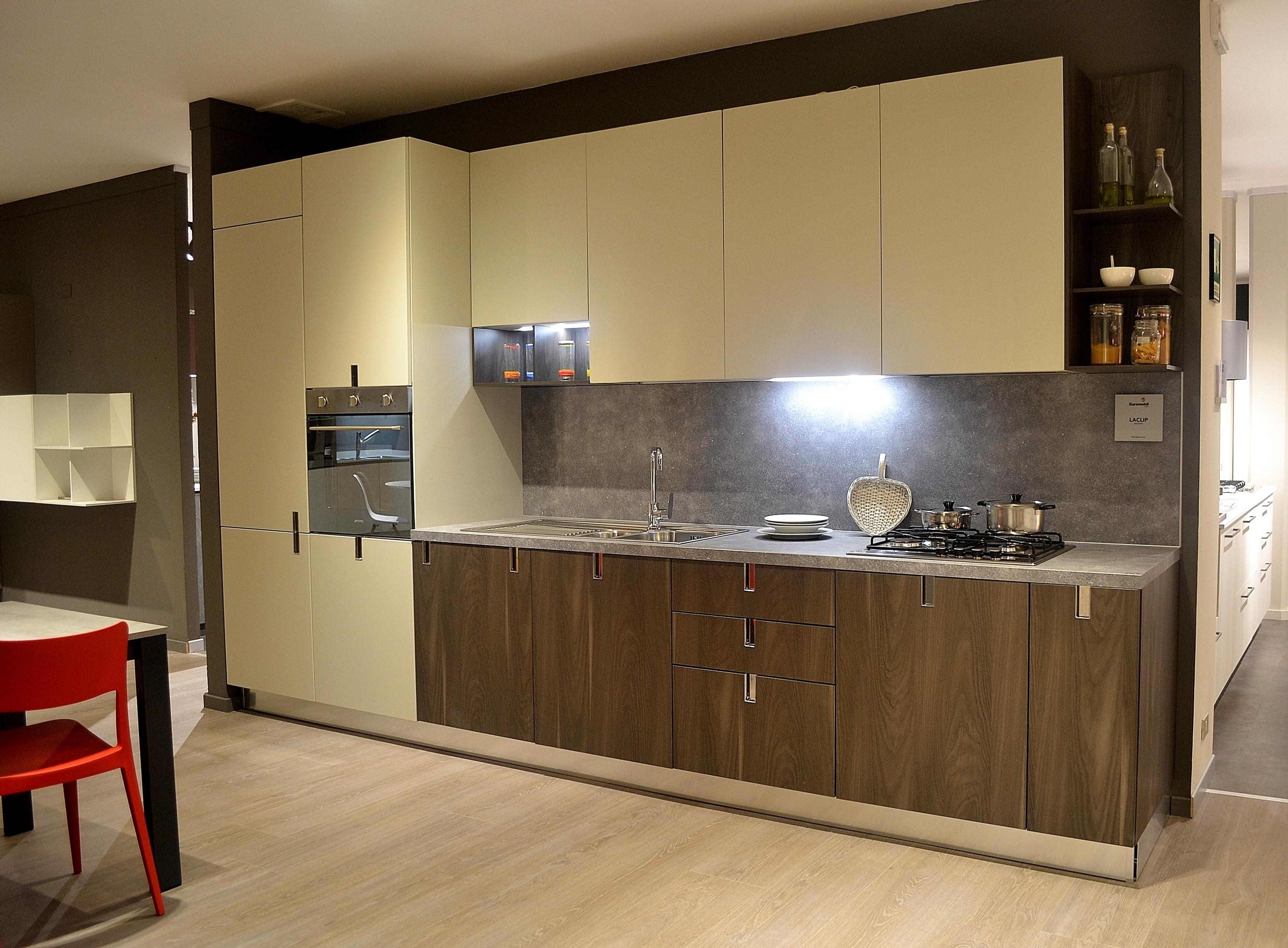 Cucina Euromobil LaClip | Dellavedova Arredamenti